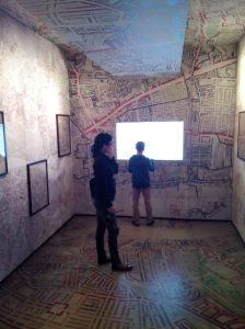 Booth map exhibit